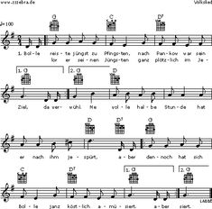 Bolle reiste jüngst zu Pfingsten - Kinderlieder und Singspiele | Labbé Verlag