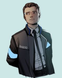 Detroit become human Connor By: frkdlsch_draws