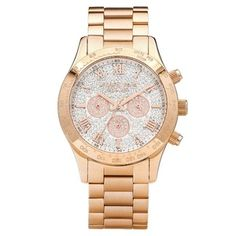 Shop Rose Golden Stainless Steel Three-Hand Tachymeter Watch w/ Rhinestone Dial from MICHAEL Michael Kors at Neiman Marcus Last Call, where you'll save as much as on designer fashions. Michael Kors Rose Gold, Michael Kors Watch, Love Is My Religion, Boyfriend Watch, Link Bracelets, Gold Watch, Chronograph, Neiman Marcus, Bracelet Watch