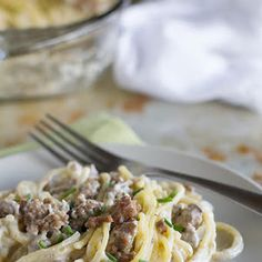 Beef and Blue Cheese Baked Spaghetti Recipe | Yummly