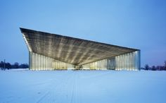 Estonian National Museum by Dorell Ghotmeh Tane - Archiscene - Your Daily Architecture & Design Update