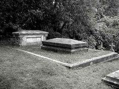 "Mary Shelley's grave, containing herself and the heart of her poet husband. ""Quite fitting for the author of ""Frankenstein."""