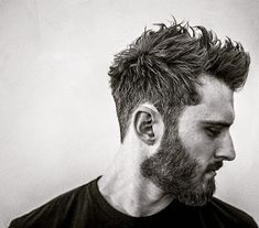 Hairstyles with beard Top 15 Hairstyles For Men With Beards in 2019 Penteados Para Homens Com Barba Em 2019 Mens Hairstyles With Beard, Hair And Beard Styles, Haircuts For Men, Short Hair Styles, Short Hairstyles For Men, Men's Haircuts, Beard Styles For Men, Simple Hairstyles, Layered Hairstyles