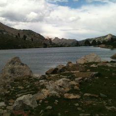 Lamoille Lake, Ruby Mountains, Elko County, Nevada