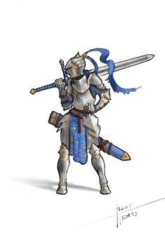 "thomashugo: ""It's a female knight with realistic armor y'all! Not the sword tho, that's way too big. Female Character Design, Character Concept, Character Art, Knight Drawing, Knight Art, Armadura Medieval, Fantasy Armor, Medieval Fantasy, Fantasy Fighter"