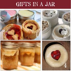 Homemade Gifts in a Jar.....really really really want to do this soon!!!!!!!