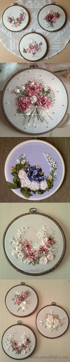 Learn how to embroider a ribbo