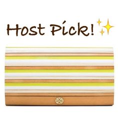 """✨NWT✨Tory Burch Rayna Colorblock Resin Clutch NWT! Authentic Tory Burch Rayna colorblock resin clutch. Gold hardware. Snap closure. 8.5""""Lx2""""Wx4.5""""H. ****No Trades, No PayPal-Please do not ask!**** Tory Burch Bags Clutches & Wristlets"""