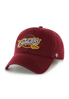 154b1c0ae76 Cleveland Cavaliers Mens 47 Brand Adjustable Hat Nba Cleveland