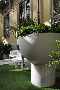 Il Verde del Fuorisalone 2012 all'Ordine degli Architetti di Milano è curato da Hortensia