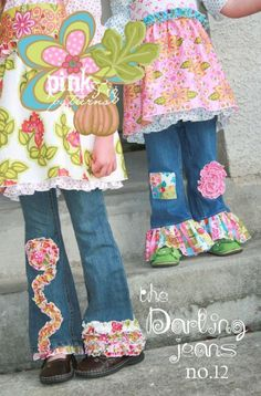 Pink Fig embellished jeans- my mom always dressed my sister in these.  i'm sure I'll do the same with mine. so precious :)