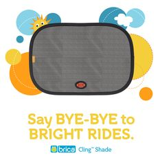Pop on these BRICA Cling™ Shades for a cool + comfortable car ride. They install easily, block harmful UV rays, AND turn white when the car's too hot. Baby Registry Must Haves, Baby Arrival, Baby Skin, Little Ones, Shades, Pop, Cool Stuff, Layette, Popular