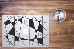 Our vinyl decals are applicable to multiples support: cars, computers, walls, windows, etc. They have a considerables lifetime both indoor and Macbook Pro Stickers, Mondrian, Geometry, Vinyl Decals, Diy Decoration, Pc Computer, Concept, Shapes, Abstract