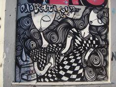Athens street art. Artist: Sonke. ( Αλέκος Σκουταριώτης/ Alekos skoutariotis).(0068.Sk#)
