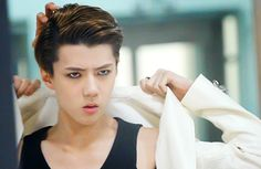 Sehun Position: Lead Dancer, Maknae (Youngest in the group) , Rapper Born: April 12, 1994. Birth name: Oh Se Hoon Fact: He's a former ulzzang (subculture and style based on looks but not competitively). Skills: Dancing.