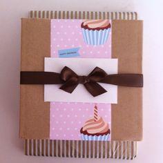 Birthday present #wrapping #DIY