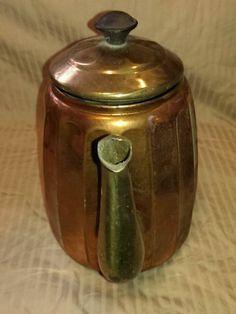 Vintage Copper Rein Kupfer Kettle Pot Germany | eBay