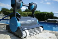Setting A High Standard For Robot Pool Cleaners... Leading the way for Robotic Pool Cleaners is this Dolphin Smart Robot Pool Cleaner. It has been designed with the latest technology, that has a level of efficiency like no other in the market. The newest Dolphin Pool Cleaner is highly efficient, with a state-of-the-art