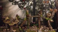 One man's glorious tribute to Ewok action Figures