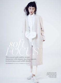 Soft Focus: Hyun Ji By Nicole Bentley For Marie Claire Australia June 2015