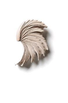 """Sontob"" Collection - 'Bhumisparsa Mudra' - Brooch -   Materials: Ceramic, Silver, Steel,  2012"