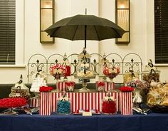 Mary Poppins party table