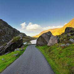 "photo: ""Gap of Dunloe, Killarney, Co. Kerry, Ireland Taken by Jan Miko Road Trippin, Monument Valley, Shots, Country Roads, Ireland Landscape, Gap, Travel, Instagram, Ireland"