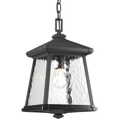 Progress Lighting P5559-31 Mac 1 Light 9 inch Black Outdoor Hanging Lantern