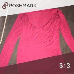 Size medium NEW Color is red NEW Tops Tees - Long Sleeve
