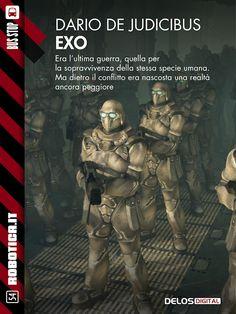 Dario de Judicibus Exo #books #libri #covers #copertine #sci-fi