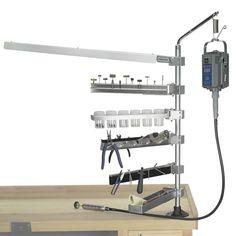 Bur Holder Arm Accessory for Foredom Flex Shaft Workbench Stand System