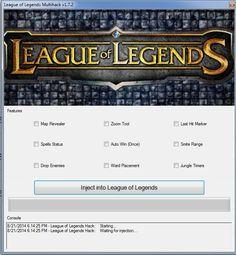 League of Legends MultiHack 2016