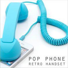 POP PHONE RETRO HANDSET ポップフォン レトロハンドセット