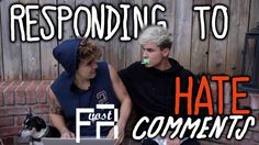 Responding To Hate Comments - KianAndJc (VOSTFR)