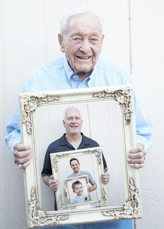 Four generation photo. #photography #family