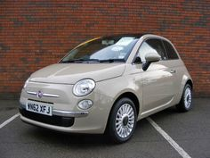 Fiat 500 New Age Cream absolutely beautiful!!!!