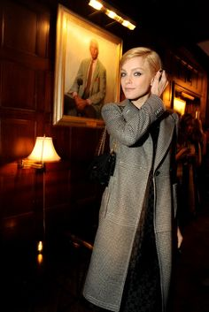 Jessica Stam at the Marc Jacobs Party at the Harvard Club