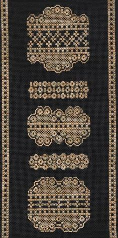 Hapsburg Lace Eyelets and Lace Sampler Kit: Lacy Canvas Work Stitches