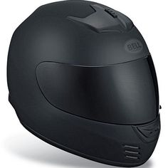 Bell Sports Full Face Motorcycle Helmet - Arrow Dull Black
