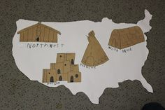 Native American Homes -Unit Study: she has a lot of good ideas for different units ***Great link, ordering the thematic unit that she used and we will be taking more time with this unit***