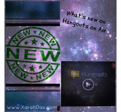 What's new on Hangouts on Air? Watch this hangout on air with Xarah and Julie showing what's new on hangouts on air
