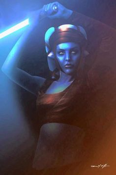Aayla Secura's, Jedi Master. Forever Star Wars