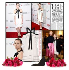 """""""2016 BAFTA Los Angeles Tea Party~ Rooney Mara"""" by snugget9530 ❤ liked on Polyvore featuring Proenza Schouler"""