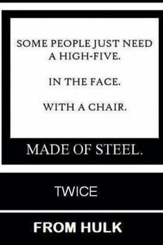 That's s the best chair high five ✋ I've ever seen