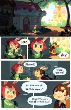 Love the art in Cucumber Quest!