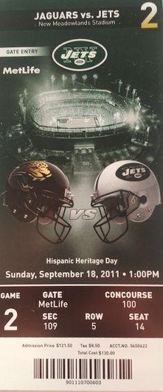 "Jags Memorabilia: ""New York Jets Vs. Jacksonville Jaguars - The Worst Quarterback Performance Ever"""