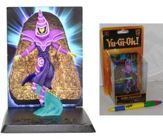YU-GI-OH Figura Diorama MAGO NERO Dark Magician 11cm NECA Yugioh SERIE 1 Nuovo