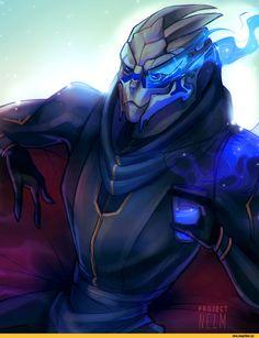 Mass Effect,фэндомы,Garrus Vakarian,ME персонажи,Jack,jaal ama darav,Mass Effect Andromeda,projectnelm