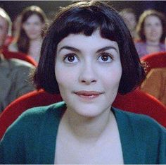 Amélie Poulain: a French whimsical do-gooder whose benign interference helps out friends & neighbors, but must help herself when she falls for a stranger. (Amélie, 2001, Jean-Pierre Jeunet. Portrayed by Audrey Tautou)