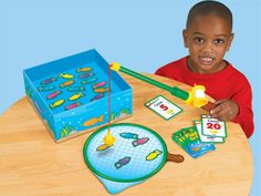 Fishing for Fun Counting Game at Lakeshore Learning